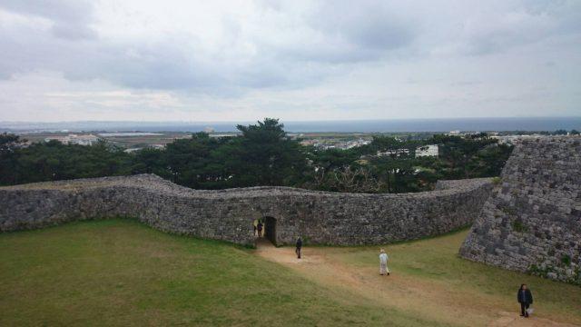 世界遺産「座喜味城跡」