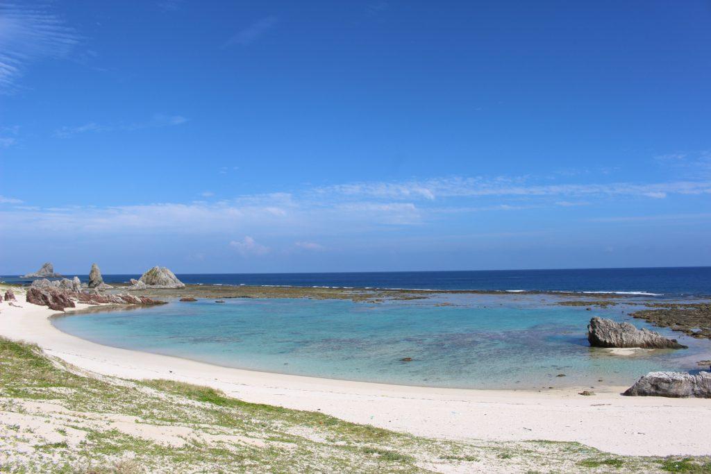 スーガ浜 天然のプール