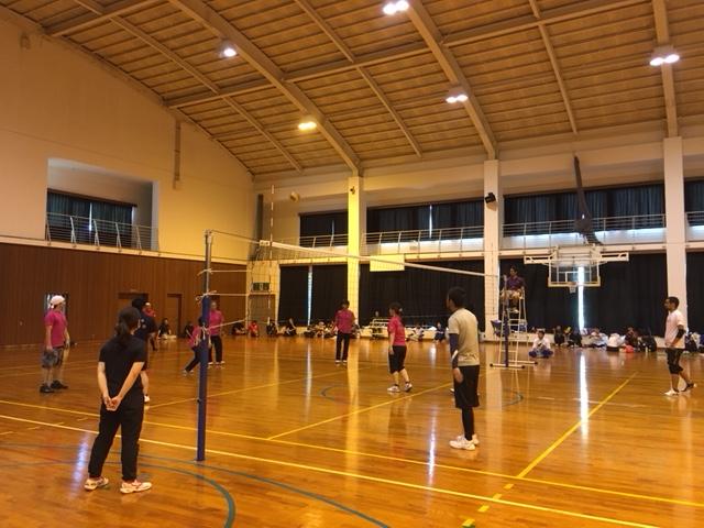 北大東島の球技大会