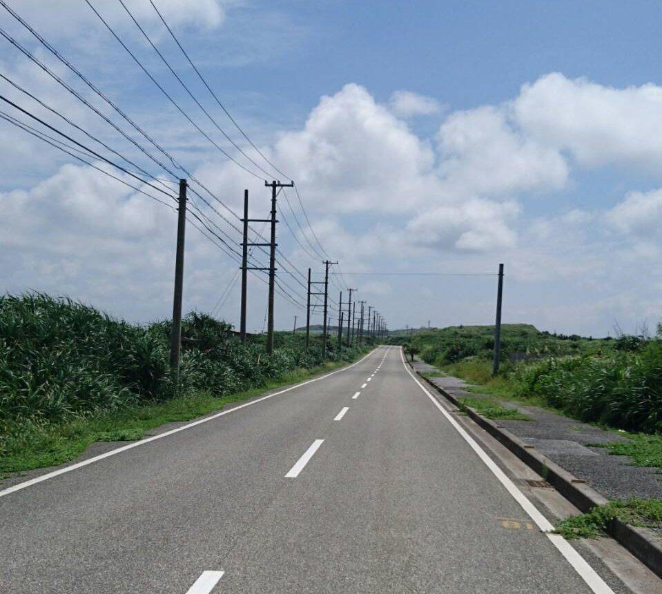 日本最西端の電信柱