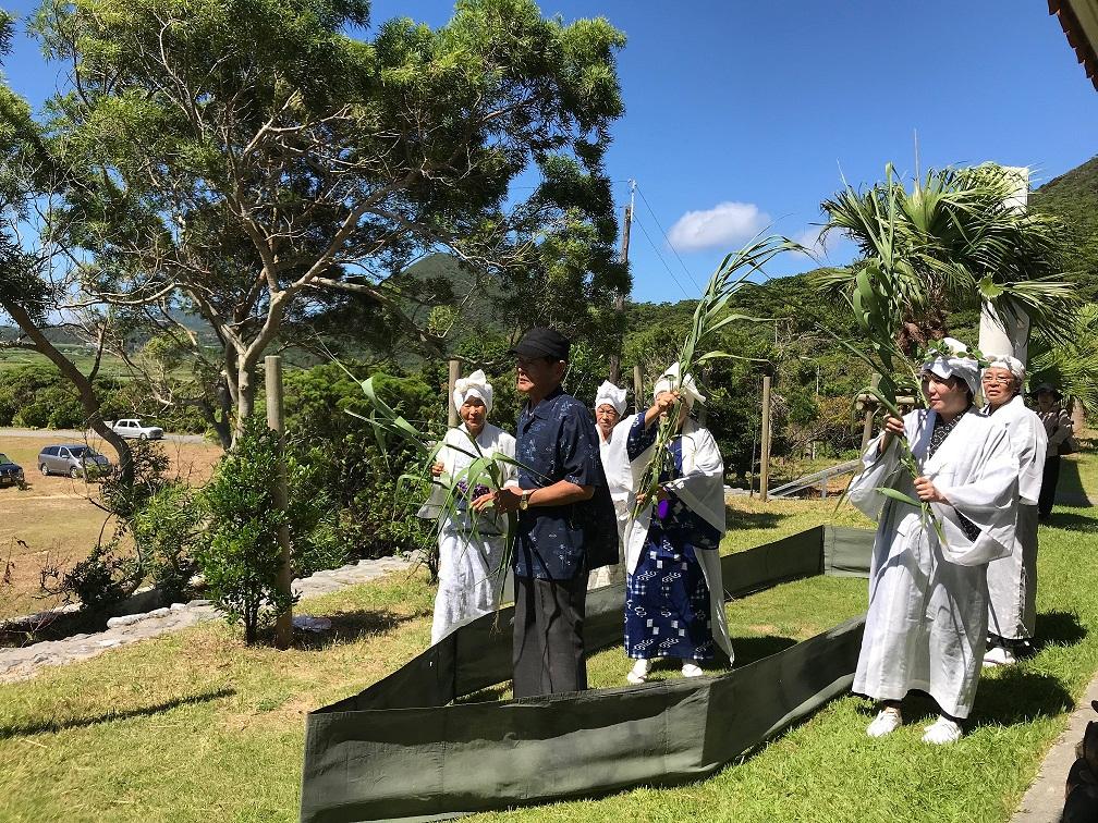 沖縄本島の北部に残る伝統行事のひとつ ウンジャミ