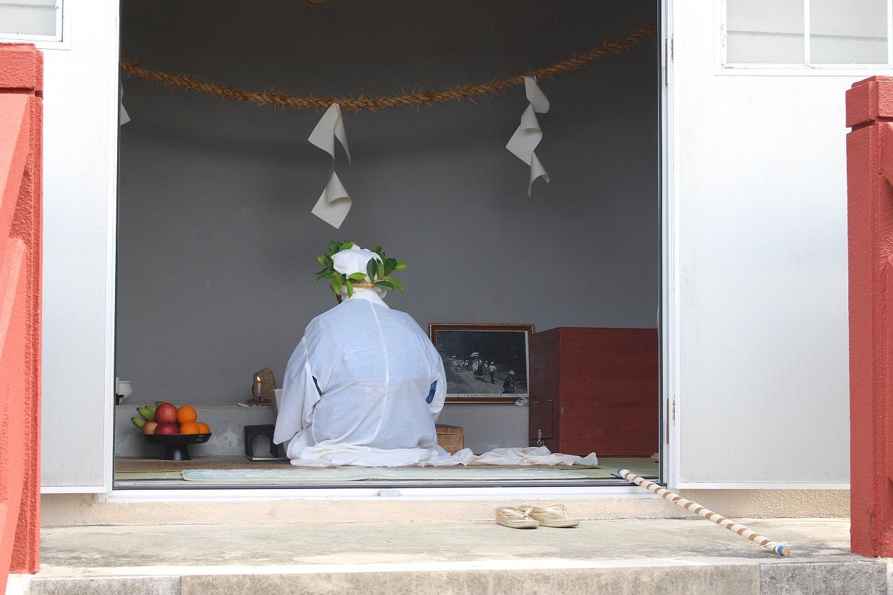 沖縄本島の北部に残る伝統行事のひとつ ウンジャミ@田名神社