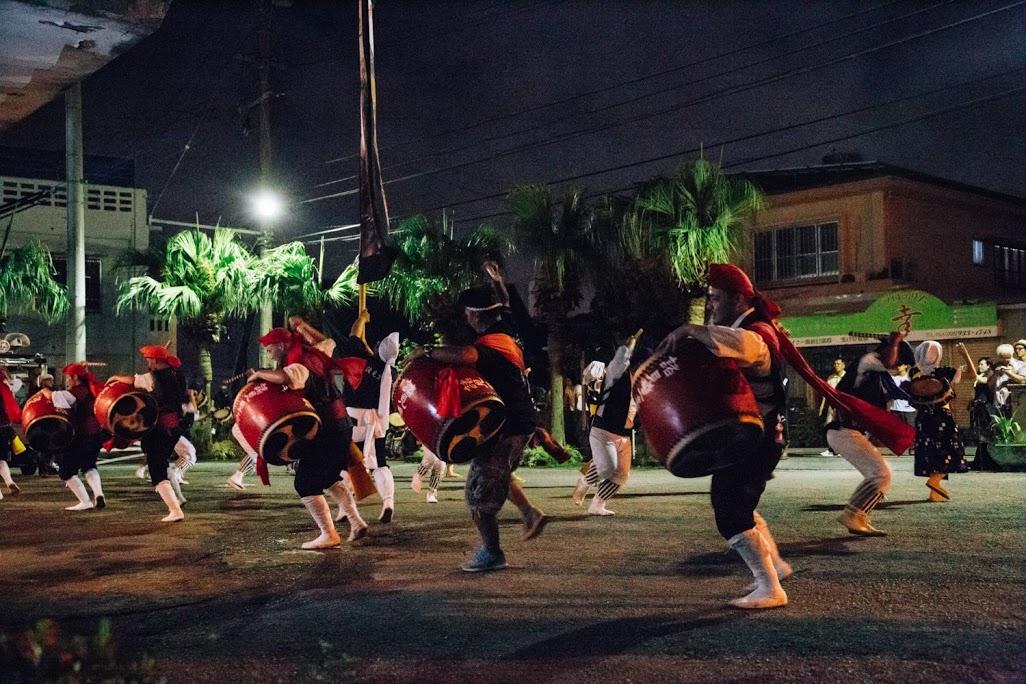 旧盆行事の道ジュネー「ガーエー」