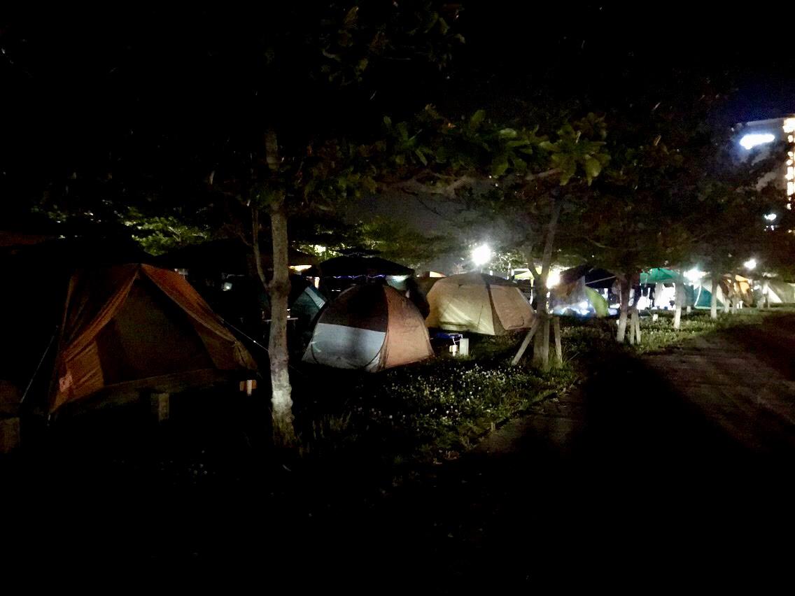 名護市幸喜ビーチキャンプエリアの写真