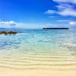 水納島 砂浜