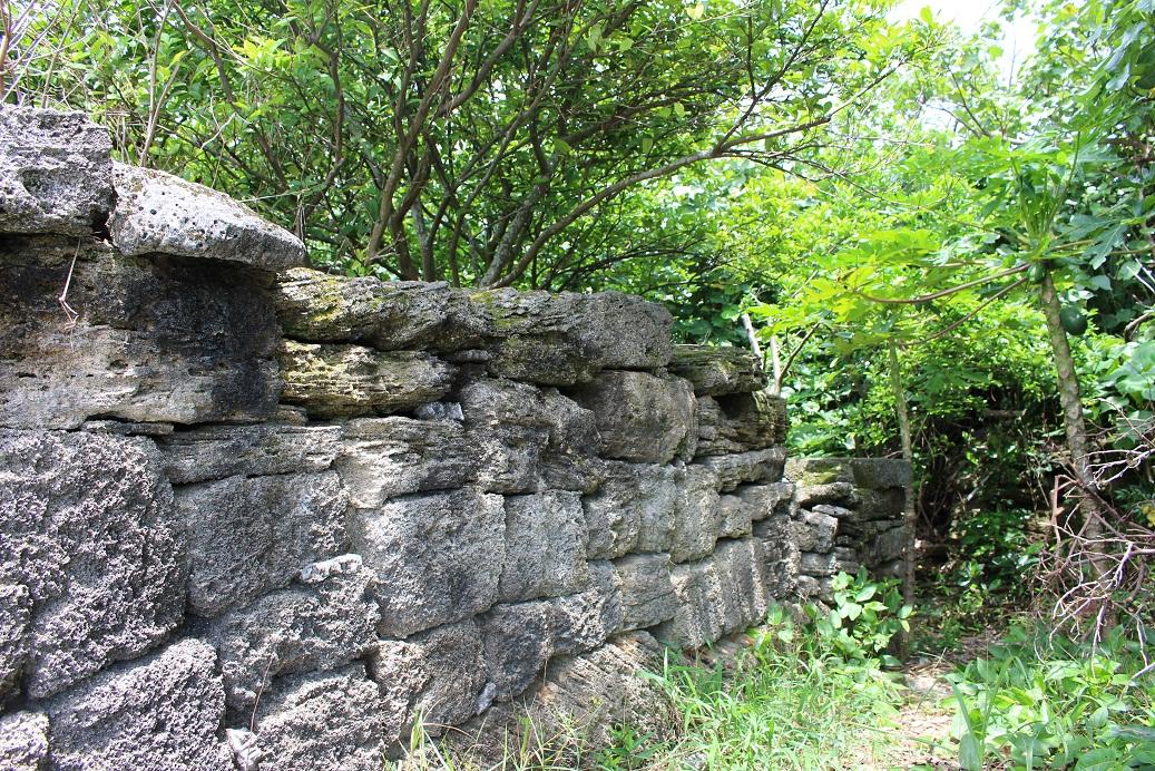 野甫島の石垣