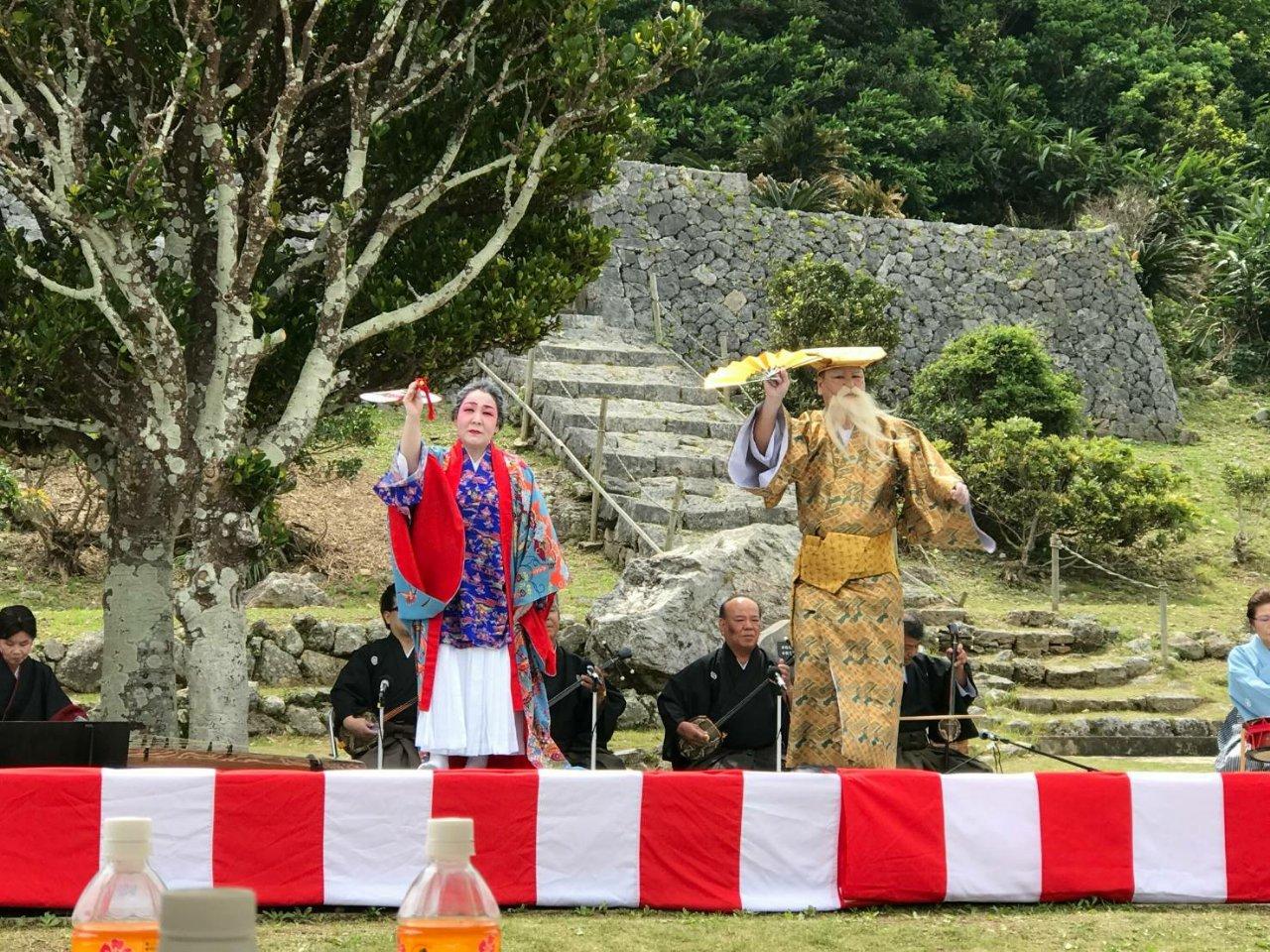伊是名島の伝統行事「公事清明祭」(クージヌシーミ)