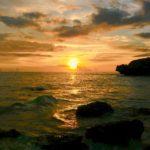 2月の夕陽