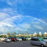 Happy double rainbow~幸せの虹