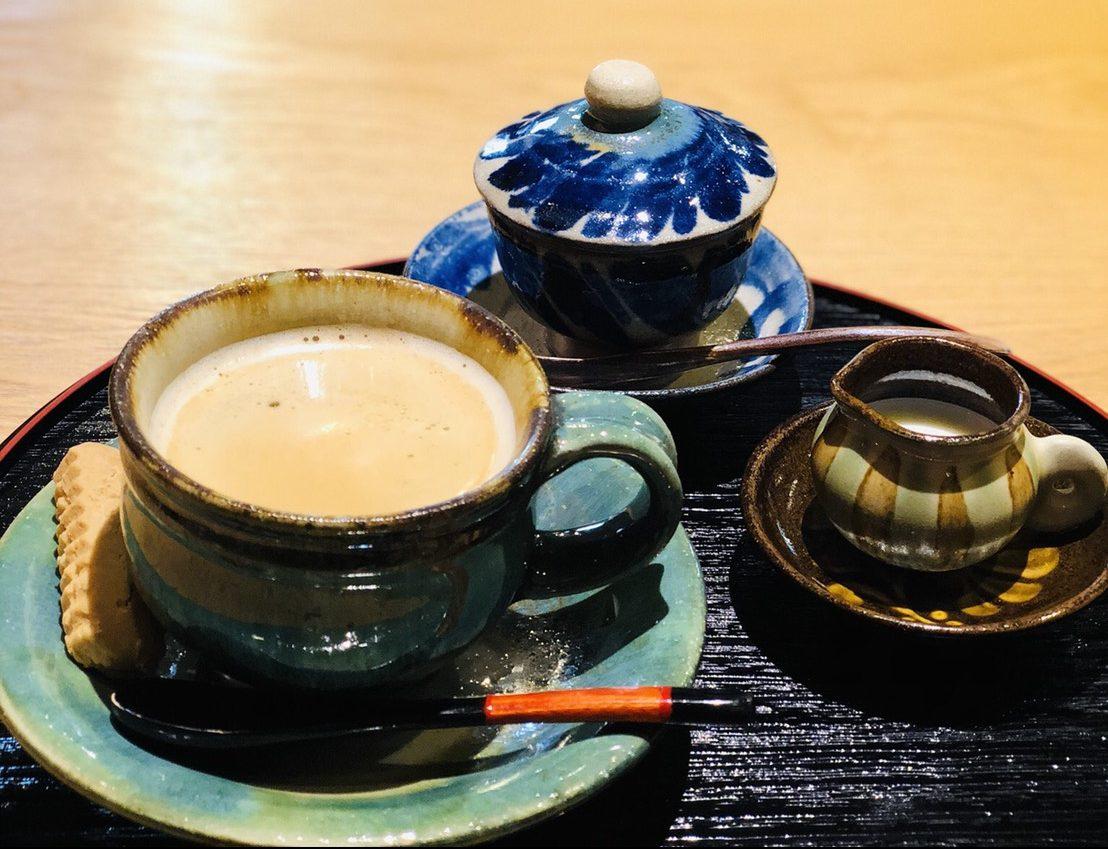 ぶくぶくのカフェラテ
