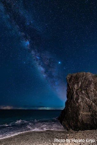 伊平屋島の星空