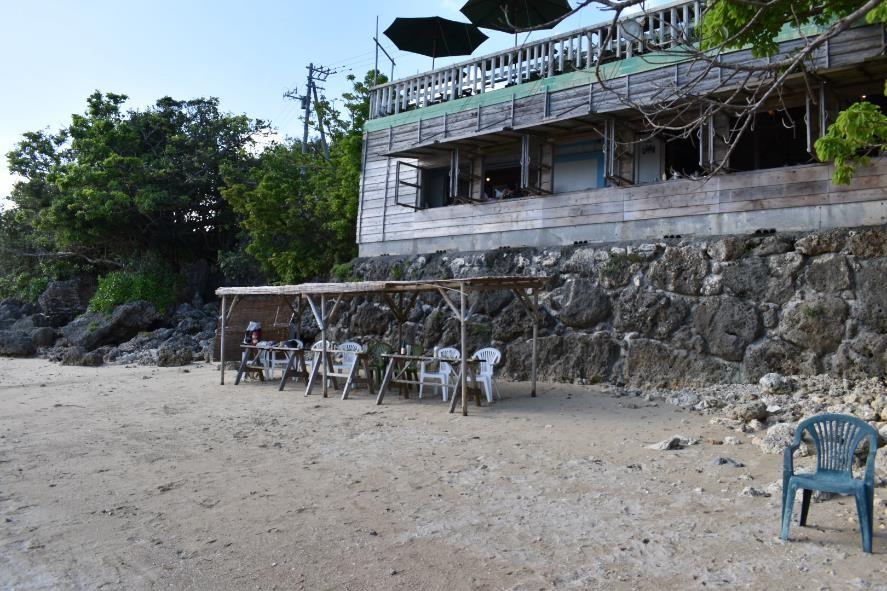 浜辺の8席