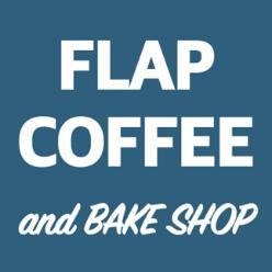 FLAP COFFEE and BAKE SHOP(フラップコーヒーアンドベイクショップ)ロゴ