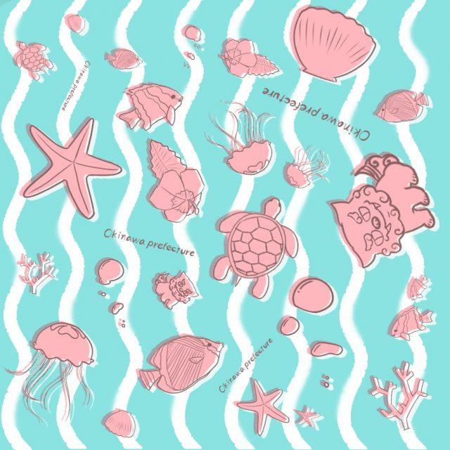 シーサーと海の仲間たち