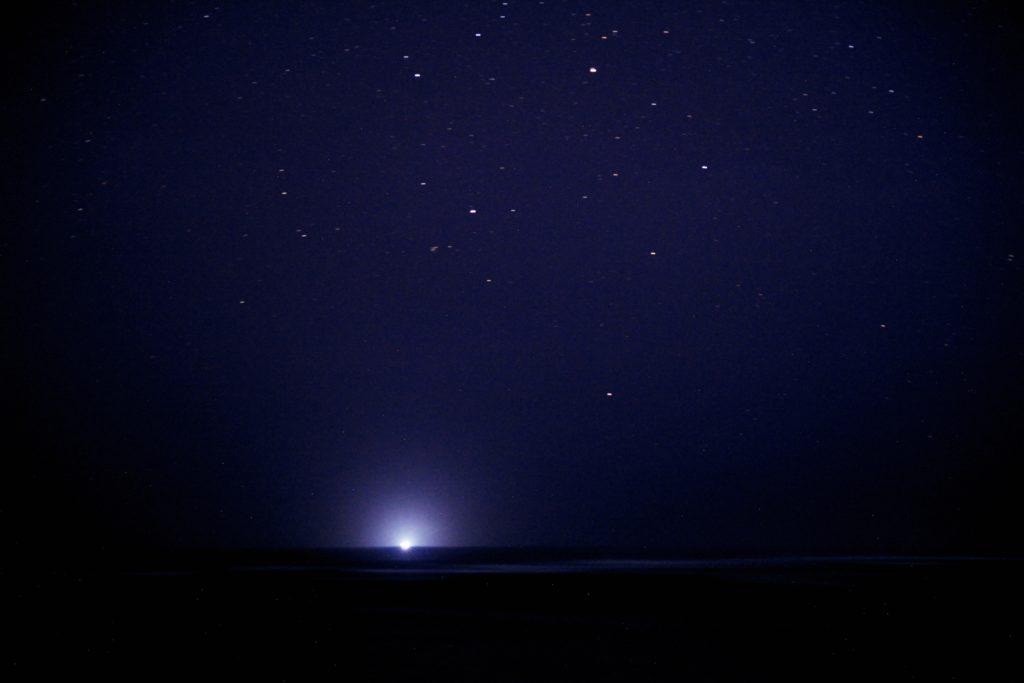 石垣島から見た南十字星