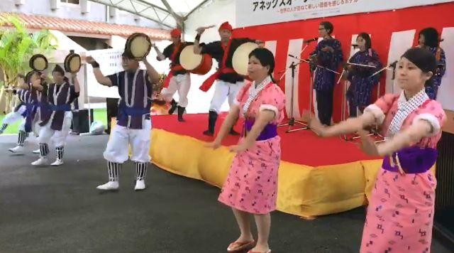 沖縄大学エイサー