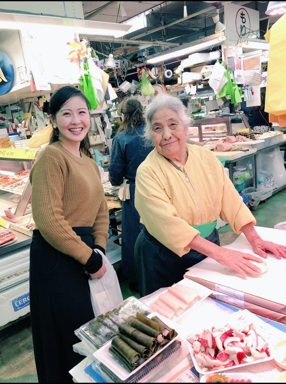 昨年の年末、旧市場を訪れた際の写真