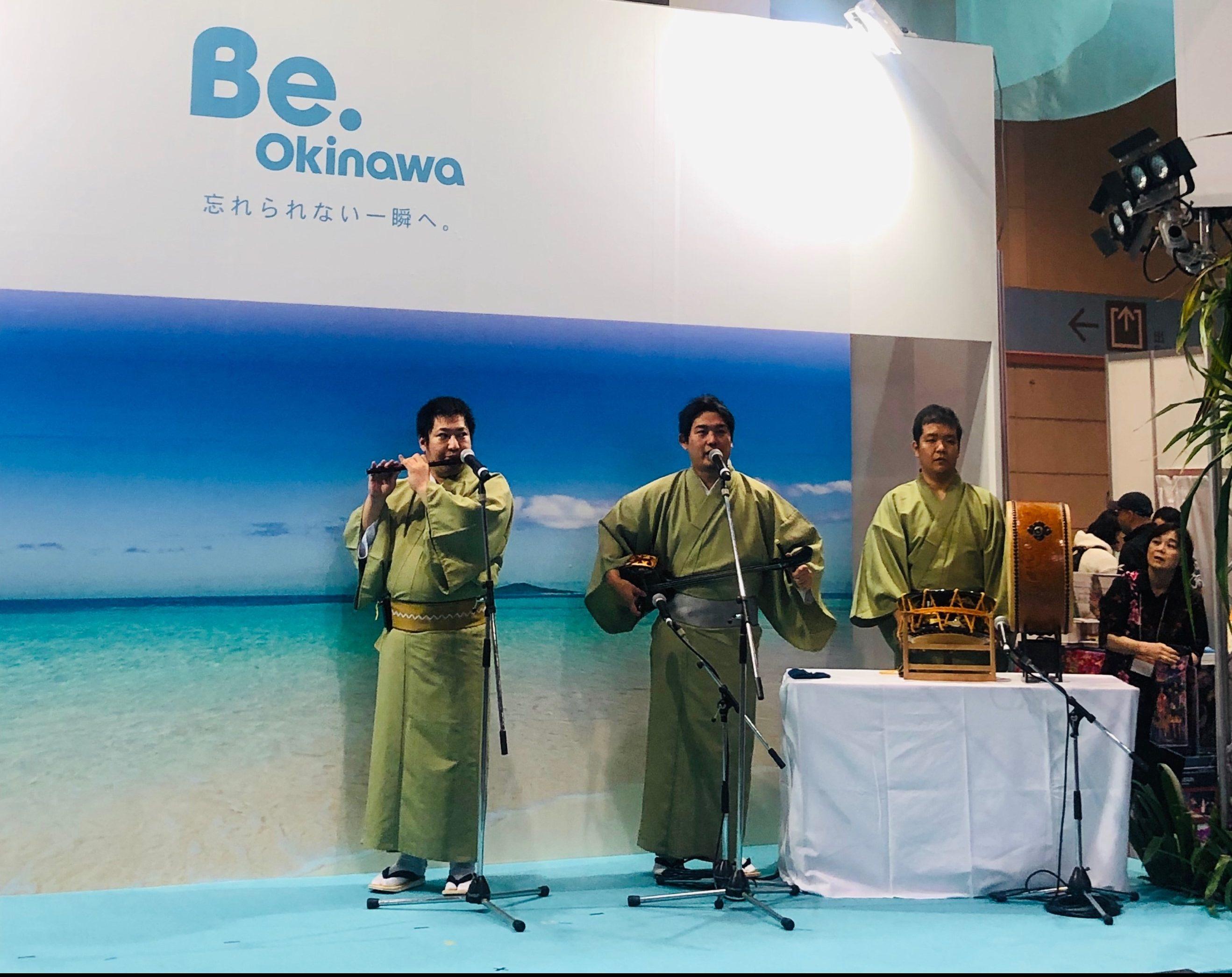エイサーや沖縄空手の演武、琉球芸能の演奏で盛り上がり