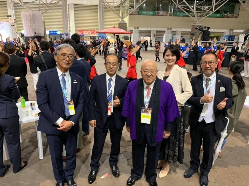 ーリズムEXPOジャパン2020沖縄リゾート展関係者の皆様との記念撮影