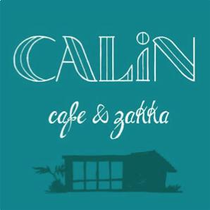 沖縄県名護市屋我地島にある古民家カフェ「CALiN(カラン)」のロゴ