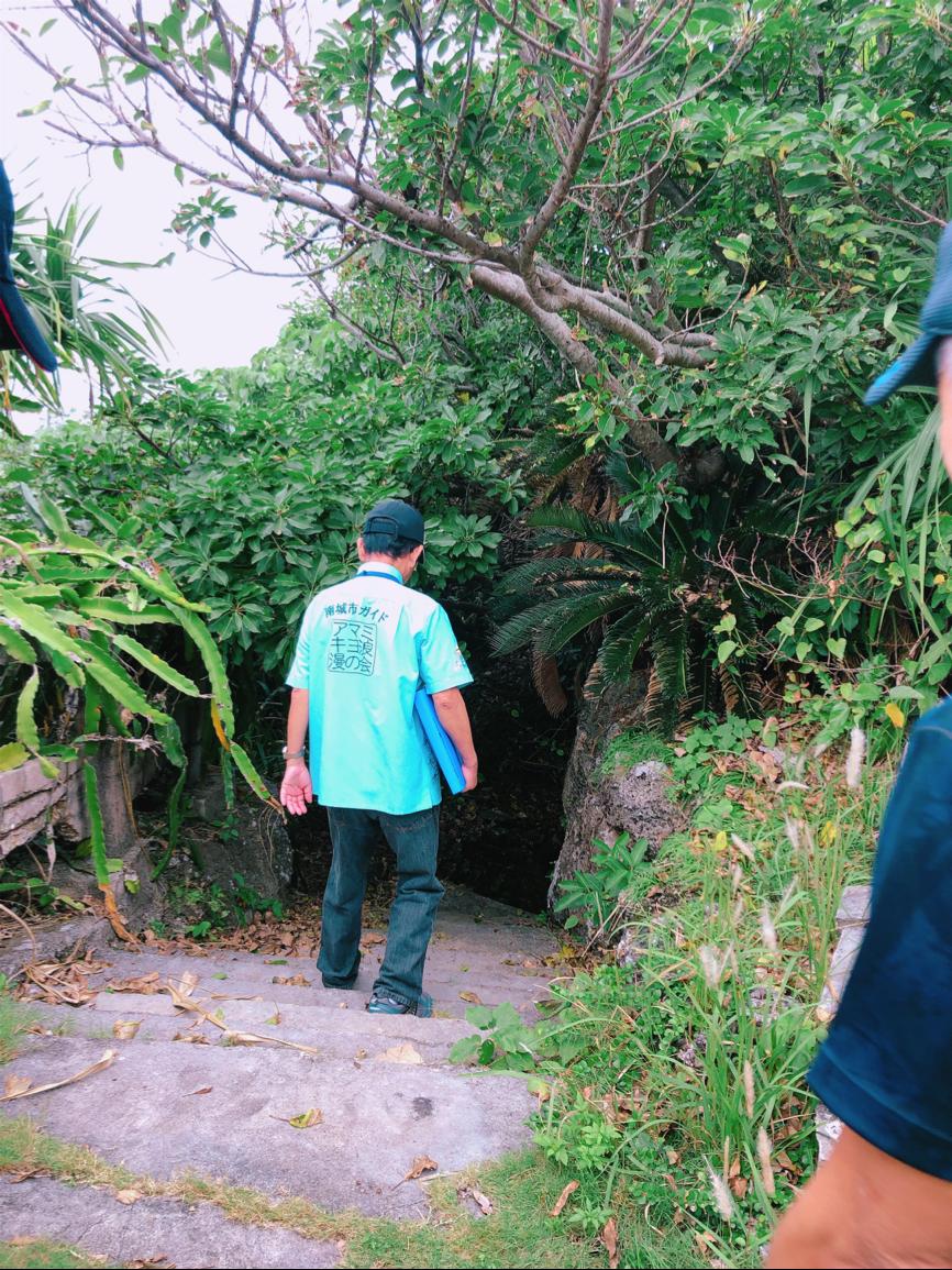 久高島ガイドツアーにて 共用の井戸
