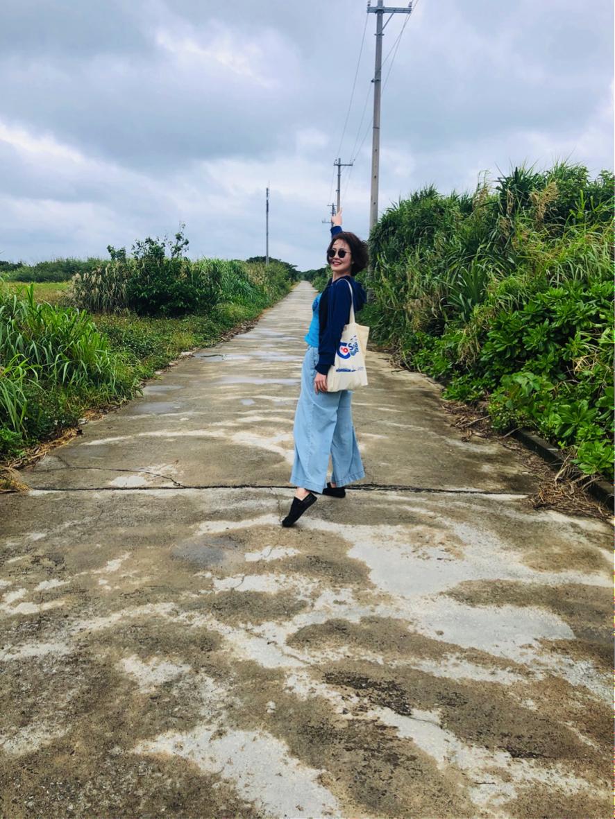 久高島 徒歩でハビャーンへ